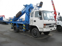AICHI D706 на базе ISUZU FORWARD 4WD