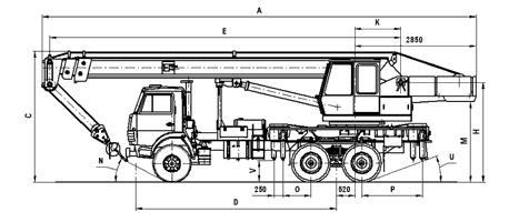 Схема гидравлики камаз акнс-10.