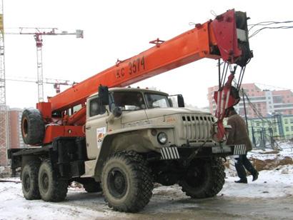 аренда автокрана Ивановец КС-3574